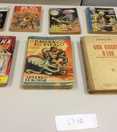 A biblioteca de ficção científica que reúne mais de 1200 títulos em Ribeirão