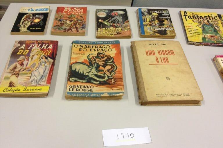 Mais de 1.200 livros de ficção científica disponíveis em Ribeirão Preto