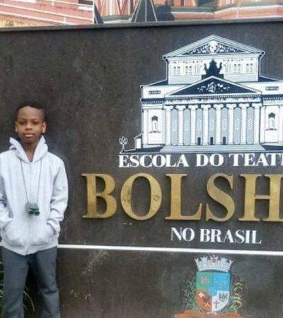 Garoto baiano de 10 anos cria vaquinha virtual para realizar sonho de estudar no Bolshoi