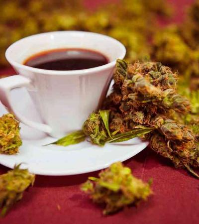 Café com infusão de maconha chega ao mercado em breve nos EUA