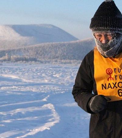 Corredores competem na corrida mais fria do mundo a -52ºC!
