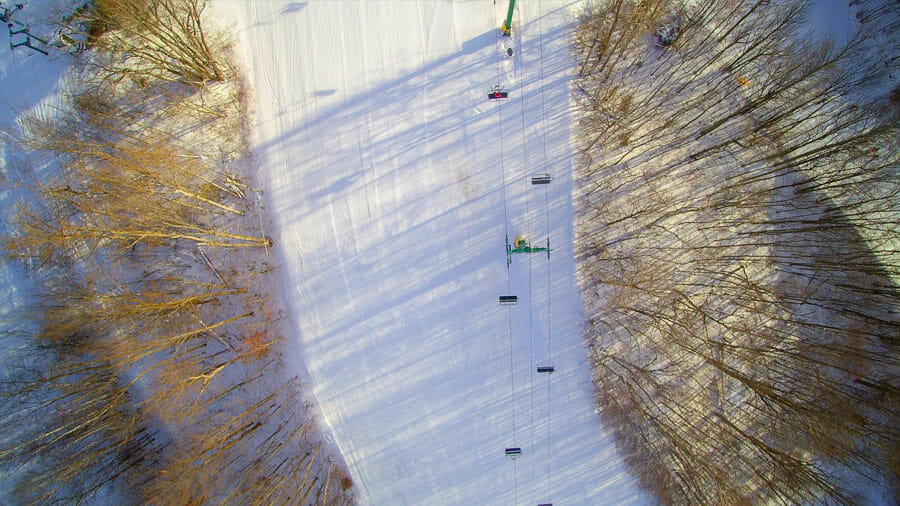 São várias as estações de esqui que se pode visitar a partir de Toronto - Foto: Divulgação / Hockey Valley