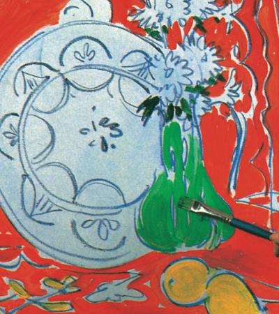 Criaram um guia para você pintar simulando que é Matisse