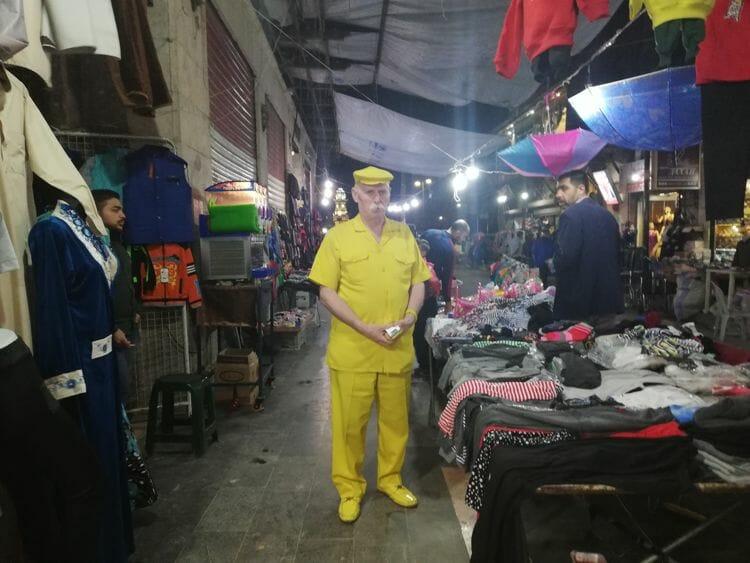 homem amarelo de aleppo 1