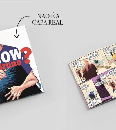 Desenhista brasileiro da Marvel lança autobiográfica em versão HQ