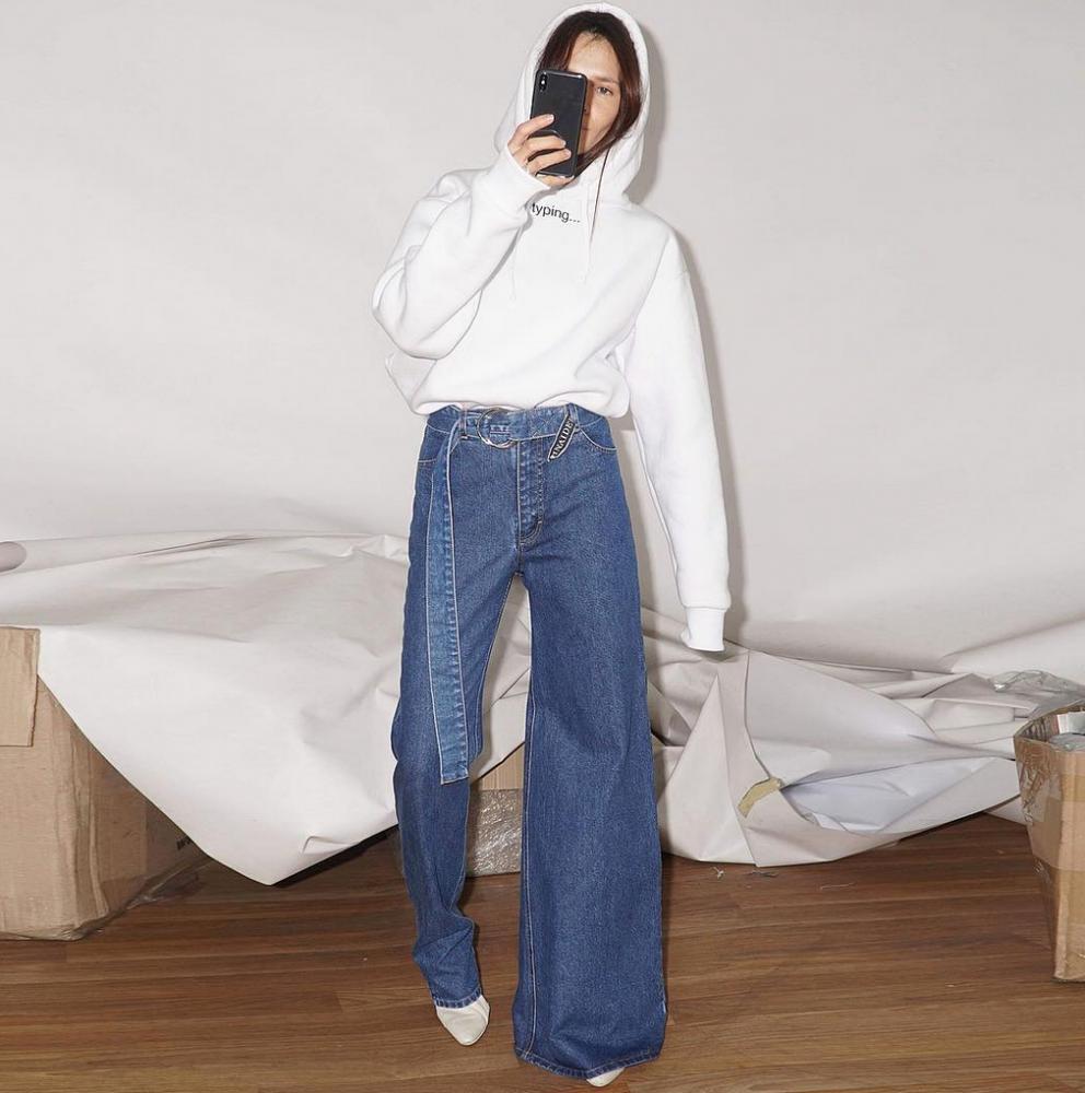 jeans assimétrico 2