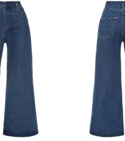 Jeans assimétrico promete ser tendência em 2019 apesar de ser totalmente bizarro