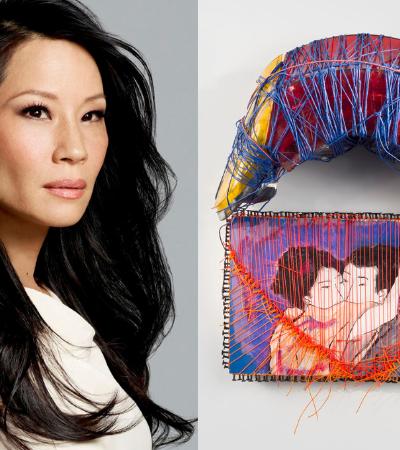 A atriz Lucy Liu escondeu de todo mundo que era uma excelente artista plástica