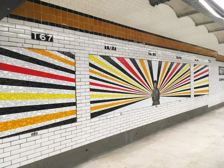 mosaico metrô bronx 6