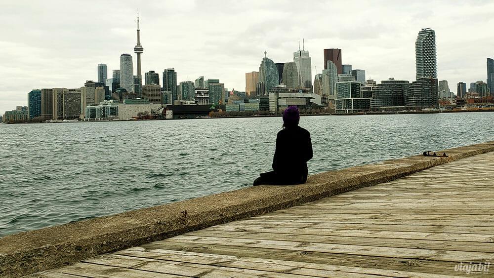 Skyline de Toronto - Foto: Rafael Leick / Viaja Bi!