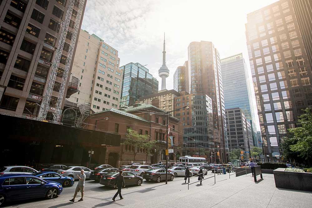 Centro de Toronto, com a CN Tower em destaque - Foto: Tourism Toronto