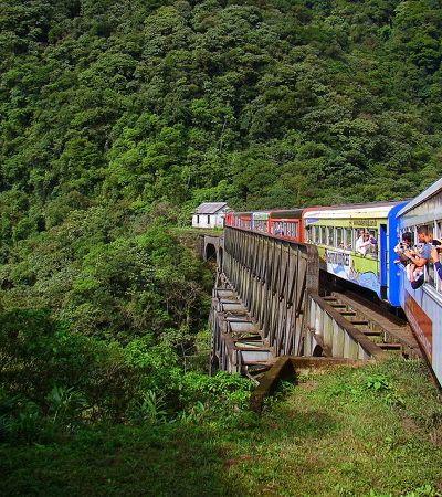 Viagem de trem brasileira que está entre mais belas do mundo opera todos os dias nas férias