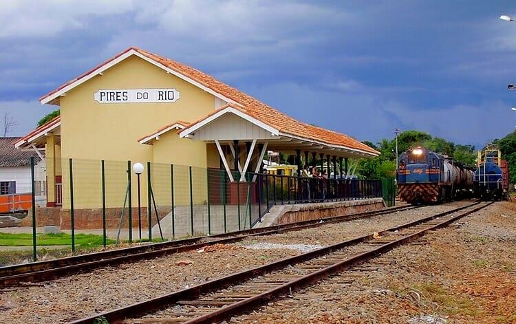 trem turístico Goiás 1