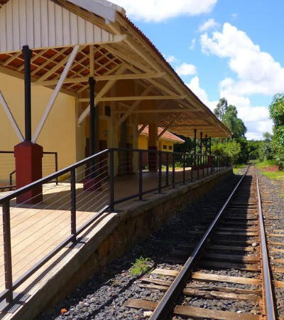 Novo trem turístico brasileiro passa por 14 cidades de Goiás