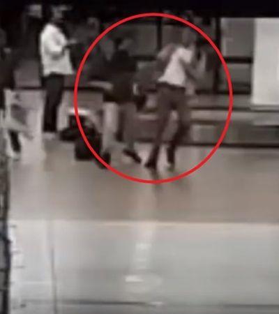 Vídeo mostra diplomatas brasileiros trocando agressões físicas em aeroporto na Bolívia