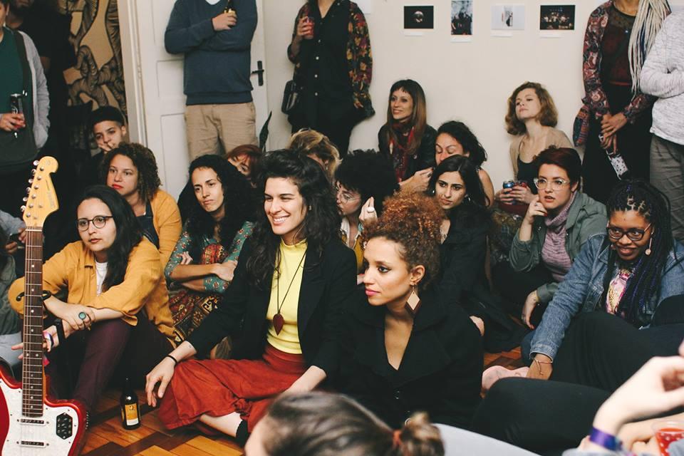 Audição SÊLA na Casa Vulva por Marcela Guimarães