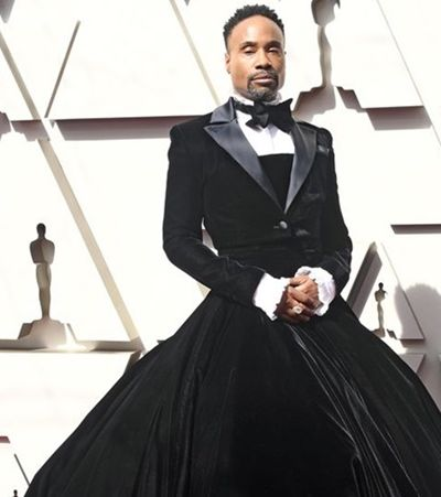 Billy Porter e o look mais arrasador da história do Oscar