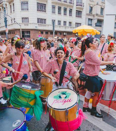 Mulheres lideram 37 blocos de Carnaval empoderados por todo o Brasil
