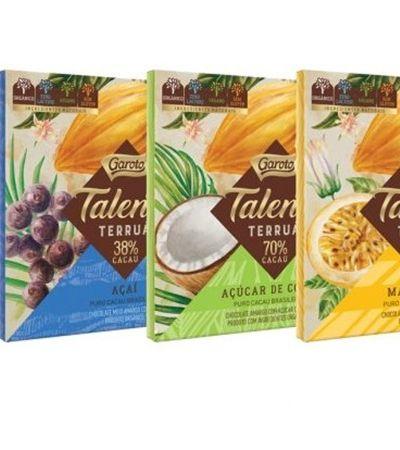 Garoto lança linha vegana e orgânica do chocolate Talento com 4 sabores