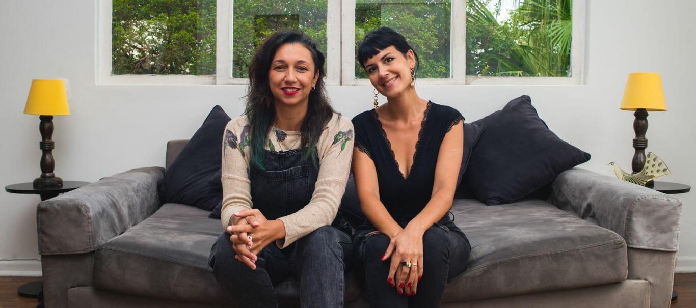 Claudia Assef e Monique Dardenne, idealizadoras do Women's Music Event