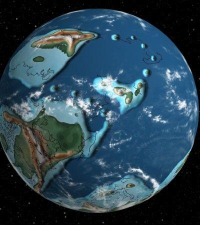 Mapa interativo mostra como a Terra mudou em 750 milhões de anos