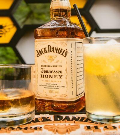 Jack Honey lança novo drink e mostra que whiskey combina sim com o verão