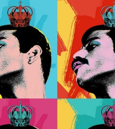 E se o Andy Warhol criasse o pôster de 'Bohemian Rhapsody'? O Oscar na visão da Pop Art
