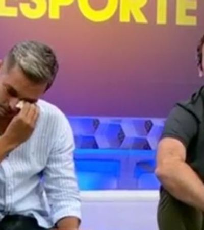 Ivan Moré nos mostra a importância de ver um homem chorar ao vivo na TV