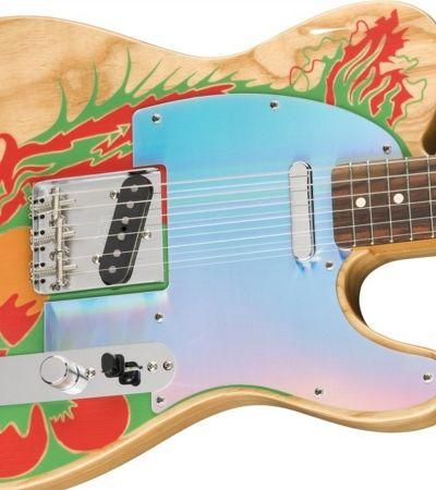 Jimmy Page, ícone do Led Zeppelin, ganha nova linha de guitarras da Fender