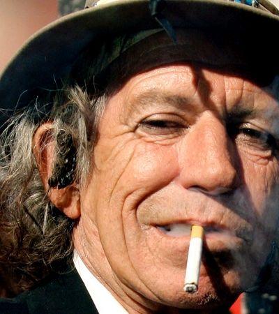 Keith Richards diz que largar heroína foi mais fácil que parar de fumar