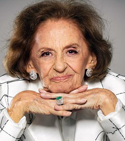 Laura Cardoso aos 91 anos disse que achou lindo ver dois homens de mãos dadas