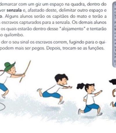 MEC aprova manual infantil que propõe brincadeira que encena escravidão