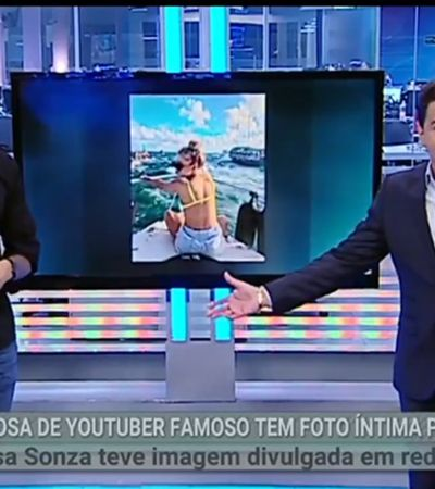SBT exibe show de misoginia sobre vazamento de nudes de Luísa Sonza