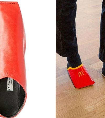 Em resposta a um meme, McDonald's sueco promete lançar sua linha de sapatos