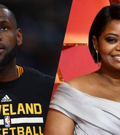 Octavia Spencer precisou de ajuda de LeBron James para ter salário equivalente em série