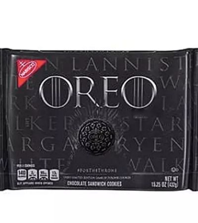 'Oreos are coming': Biscoito (ou bolacha) ganha versão especial 'Game Of Thrones'