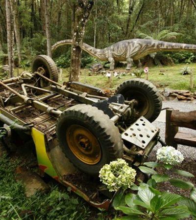 Cidade paulista vai ganhar parque temático de dinossauros
