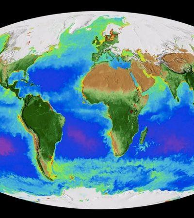 Vídeo feito por meio de satélites capta a Terra 'respirando'