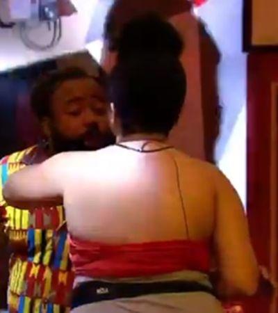 Não é não! Rodrigo força a barra para beijar Rízia no BBB e gera revolta nas redes