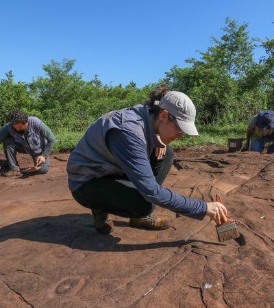 Sítio arqueológico de 4 mil anos no PR deve virar museu a céu aberto