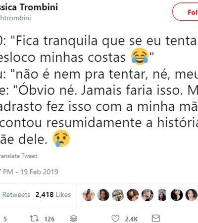 Jornalista mostra reações de homens no Tinder sobre espancamento de mulher no Rio