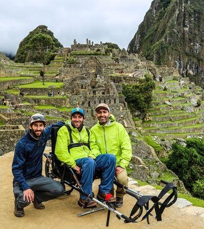 Empresa cria tour especial para cadeirantes conhecerem Machu Picchu