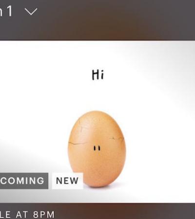#WorldRecordEgg: ovo mais curtido do Instagram se abre com mensagem surpreendente e positiva