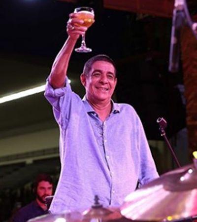 Aniversário de 60 anos do Zeca Pagodinho terá cinco mil litros de cerveja