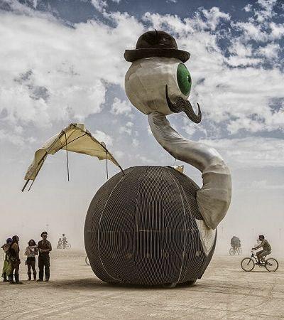 CEO do Burning Man diz que Instagram está acabando com cultura anti-capitalista