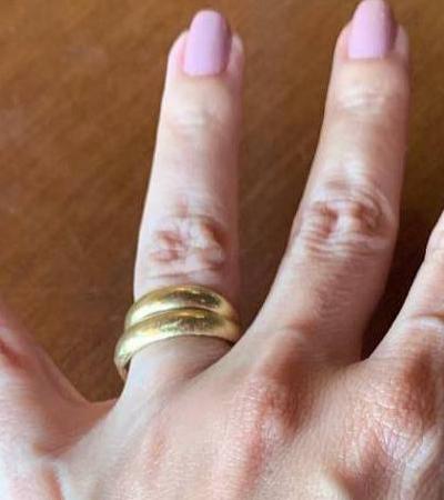 'Meu coração é só amor': Veruska, viúva de Boechat, reencontra aliança do marido