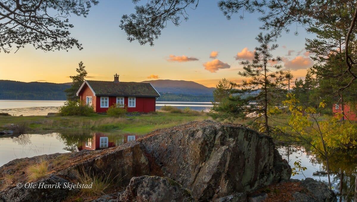 casa vermellha noruega 2