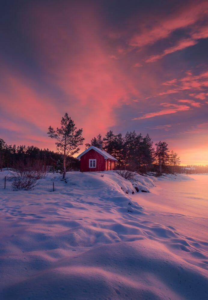 casa vermellha noruega 6