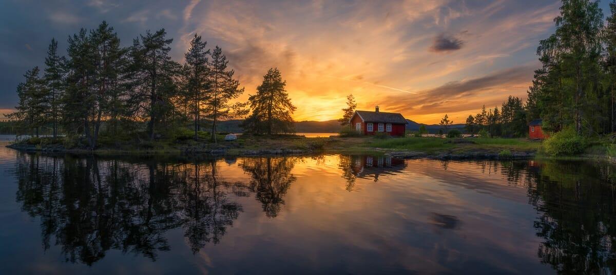casa vermellha noruega 7