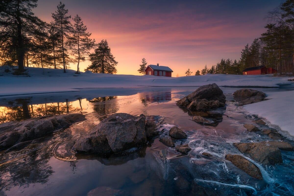 casa vermellha noruega 8